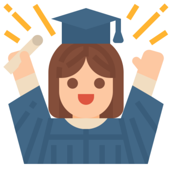 bild på en student